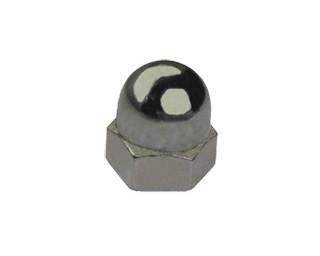 Kloboukové matice DIN 1587 Ocel Bez povrchové úpravy