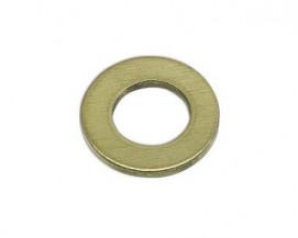 Ploché podložky DIN 125A Ocel Žlutý zinek