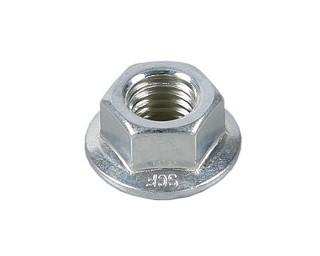 Límcové matice DIN 6923 Ocel 8 Zinek bílý