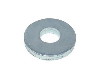 Ploché podložky pro pevnostní spoje DIN 6340 Ocel Zinek bílý