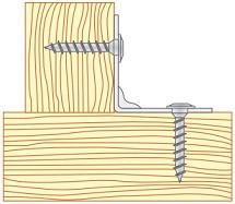 Vruty do tesařského kování Ocel Speciální povrchová úprava