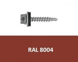 Farmářské vruty RAL 8004