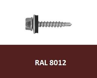 Farmářské vruty RAL 8012