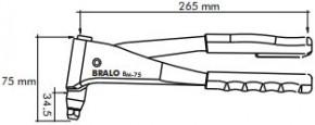 Nýtovací kleště BM-75